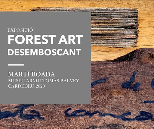 "Music for the digital exhibition ""Forest Art. Desemboscant"""
